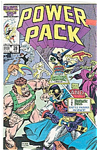 Power Pack - Marvel Comics - # 28 Feb. 1987