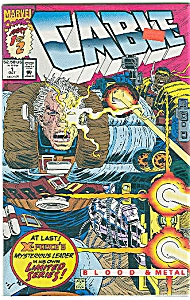 Cable - Marvel comics - Oct. 1992   # 1 (Image1)