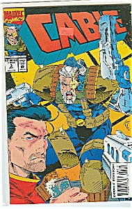 Cable - Marvel comics - July 1993   # 3 (Image1)
