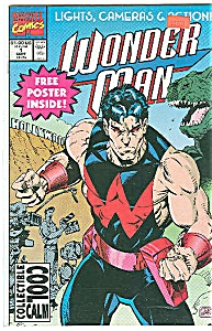 WONDERMAN - Marvel comics - # 1 Sept.  1991 (Image1)