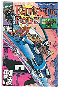 Fantastic Four - Marvel comics - # 341 June 1990 (Image1)