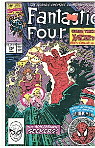 Fantastic Four - Marvel comics- # 342 July 1990 (Image1)
