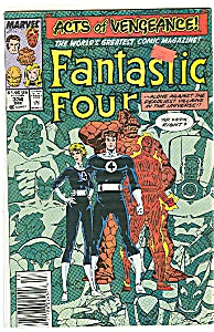 Fantastic Four - Marvel comics - # 334  Dec. 1989 (Image1)