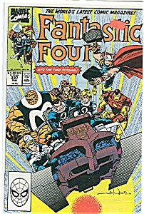 Fantasti c  Four -Marvel comics - # 337  Feb. 1990 (Image1)