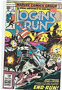 Logan's Run - Marvel comics group - # 5 May1977 (Image1)