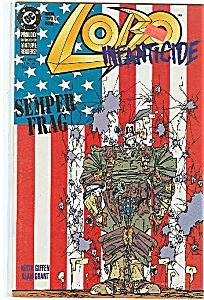 Lobo Infanticide - D C comics  2 of 4   1992 (Image1)