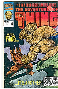 The Thing - Marvel comics - # 1  April 1992 (Image1)