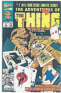 The Thing - Marvel Comics - June 1992 # 3