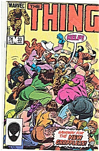 The Thing - Marvel comics - March 1986  # 33 (Image1)
