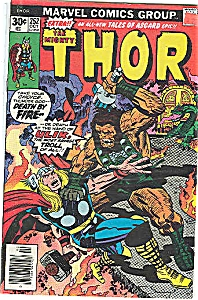Thor - Marvel comicsgroup - # 252 Oct. 1976 (Image1)