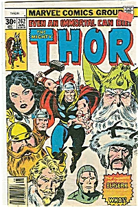 Thor - Marvel comics group - # 262   August 1977 (Image1)