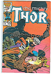 Thor- Marvel comics - # 375   Jan. 1987 (Image1)