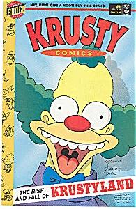 Krusty comics - Bongo comics - # 1  1995 (Image1)