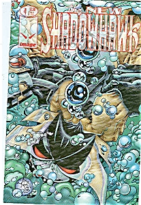 The New Shadowhawk - # 4 Image comics Nov. 1995 (Image1)