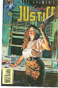 Lady Justic e- Tekno Comics - # 8  Feb. 1996 (Image1)