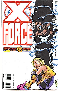 X-Force - Marvel comics  # 48  Nov. 1995 (Image1)