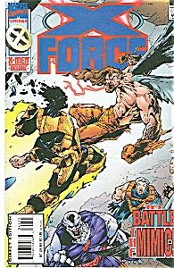 X-Force - Marvel comics #46   Sept. 95 (Image1)