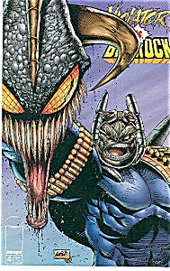 Volator vs. Badrock- Image comics - # 4  August 1995 (Image1)