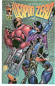 Weapon Zero - Image comics - T-3 Aug.  1995 (Image1)
