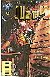 Lady Justice - Tekno comics - # 9  March 1996 (Image1)