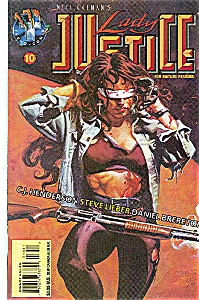 Lady Justice - Tekno comics - # 10 April 1996 (Image1)