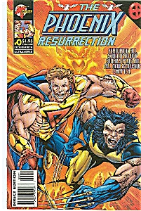 The Phoenix - Malibu comics - @ 0   March 1996 (Image1)