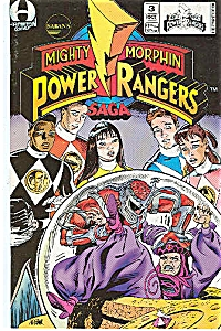 Power Rangers - Hamilton comics - # 3  Oct. Copyrt 94 (Image1)