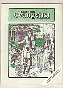 The Brethren Evangelist -  September 1985 (Image1)