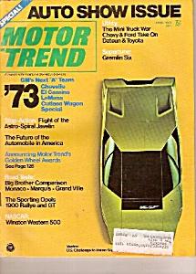 Motor Trend -  April 1972 (Image1)
