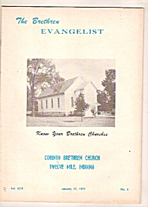 The Brethren Evangelist -  January 27, 1973 (Image1)
