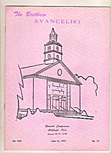 The Brethren Evangelist - June 16, 1973