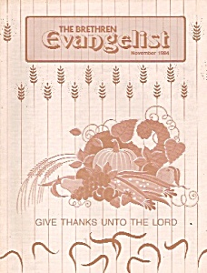 The Brethren Evangelist -  November 1984 (Image1)