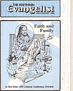 The Brethren Evangelist - September 1986 (Image1)