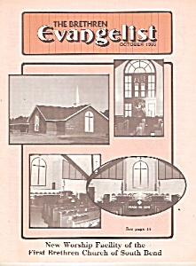 The Brethren Evangelist -  October 1986 (Image1)