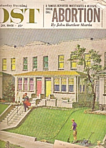 Saturday Evening Post - May 20, 1961