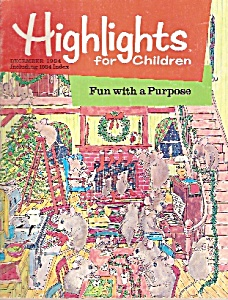 Highlights For Children - December 1984
