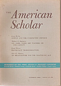 The American Scholar -  Summer 1966 (Image1)