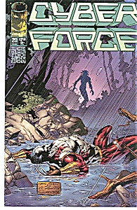 Cyber Force - Image comics - # 20  M arch  1996 (Image1)