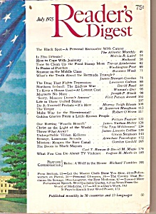 Reader's Digest  July 1975 (Image1)