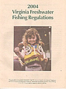 Virginia freshwater fishing regulations =- 2004 (Image1)