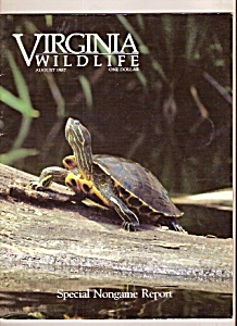Virginia Wildlife -  August 1987 (Image1)
