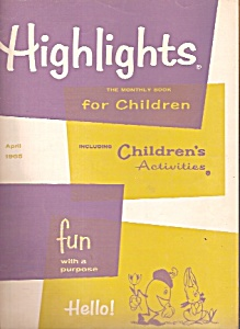 Highlighst For Children - April 1965 & February 1968