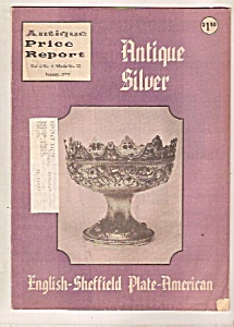 Antique Price Report - January 1979