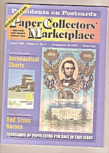 Paper Collectors' Marketplace -  August 1999 (Image1)