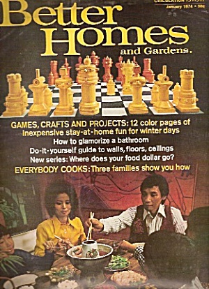 Better Homes and Gardens -   January 1974 (Image1)