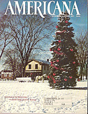 Americana Magazine - Nov., Dec. 1977