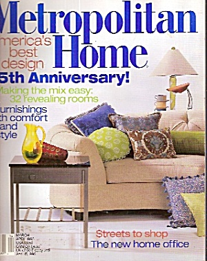 Metropolitan Home -  March/April 1996 (Image1)
