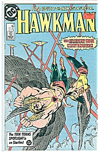 Hawkman - DC comics - # l  August 1986 (Image1)