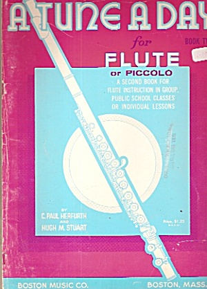 A Tune A Day For Flute - Mcmlx