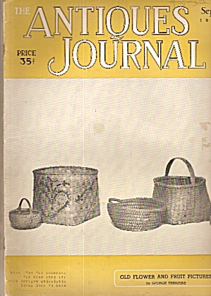 Antiques Journal - Sept. 1953